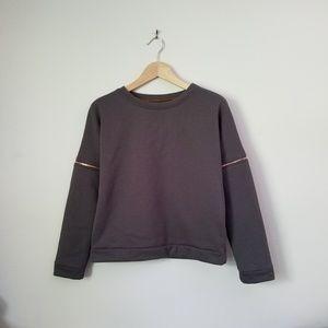 Lime & Vine - Sweatshirt - Grey - Small